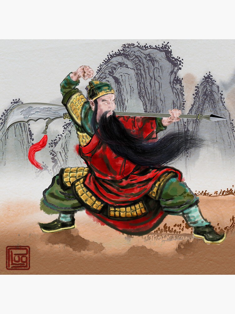 Guan Yu by PLUGOarts