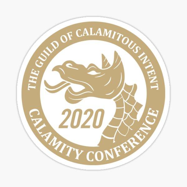 GCI Calamity Conferece 2020 FANCON Logo Sticker