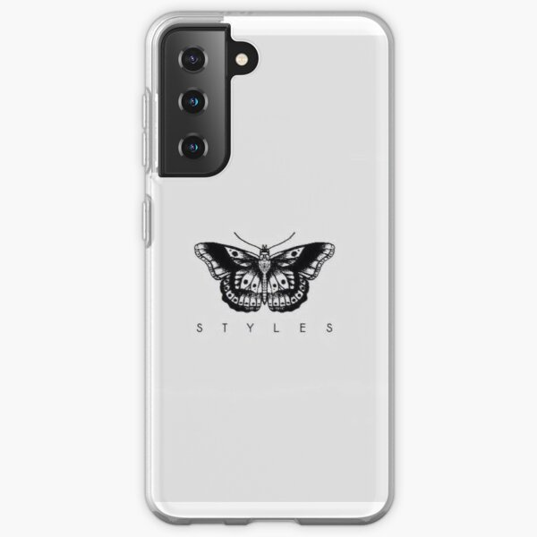 Harry Styles Butterfly Tattoo Funda blanda para Samsung Galaxy