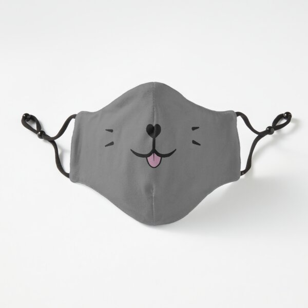 Catsack Cat Face Design Fitted 3-Layer