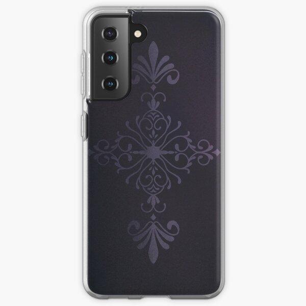 Purple Velvet Motif Samsung Galaxy Soft Case