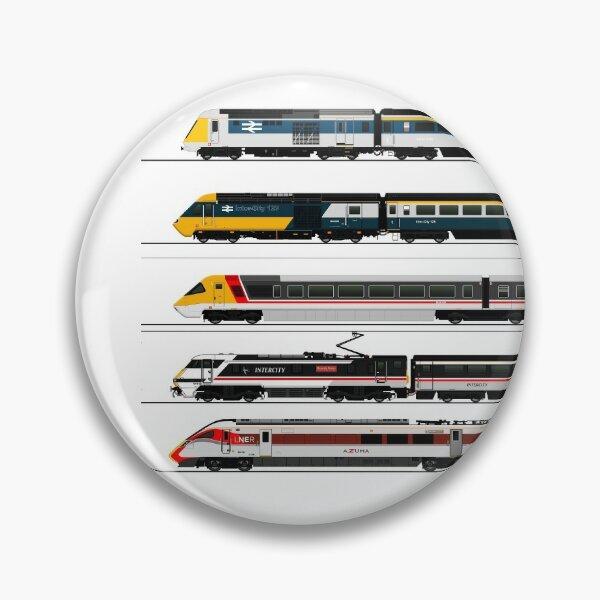 BRITISH HIGH SPEED TRAINS Pin
