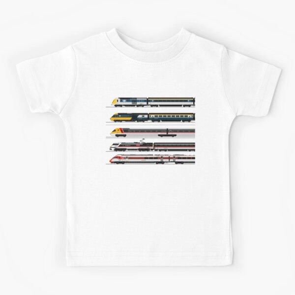 BRITISH HIGH SPEED TRAINS Kids T-Shirt
