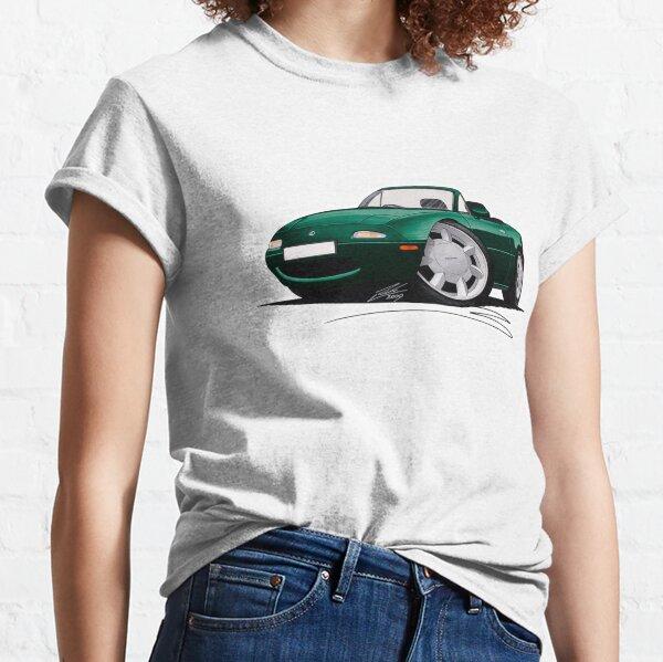 Mazda MX5 (Mk1) British Racing Green T-shirt classique