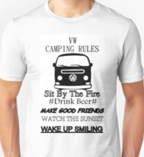 camping rules Unisex T-Shirt