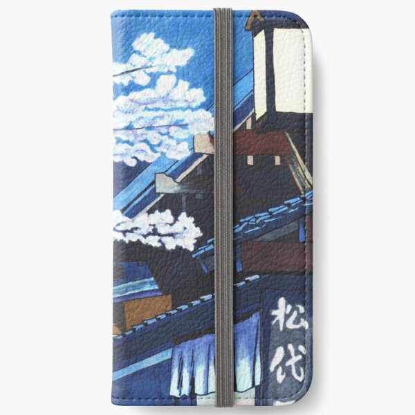 Under the Cherry Blossoms iPhone Wallet