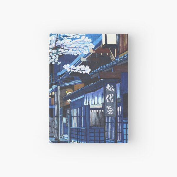 Under the Cherry Blossoms Hardcover Journal
