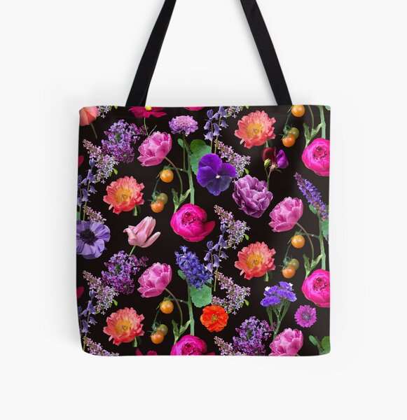 Black Beauty All Over Print Tote Bag