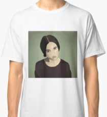 The Girl with Dark Hair Classic T-Shirt