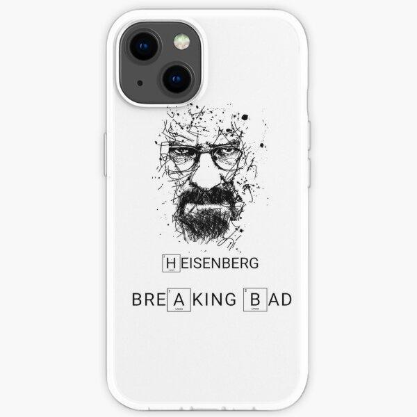 Heisenberg rompiendo mal Funda blanda para iPhone