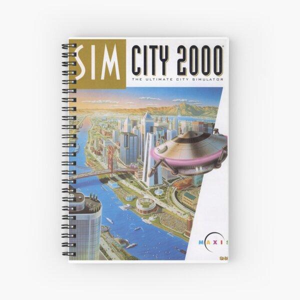 SimCity 2000 Cover Art Spiral Notebook