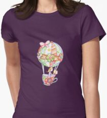 I'll Take My Teacup Anywhere no.4 Women's Fitted T-Shirt