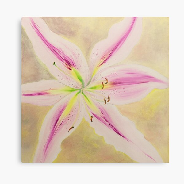 Beautiful Orchid Metal Print