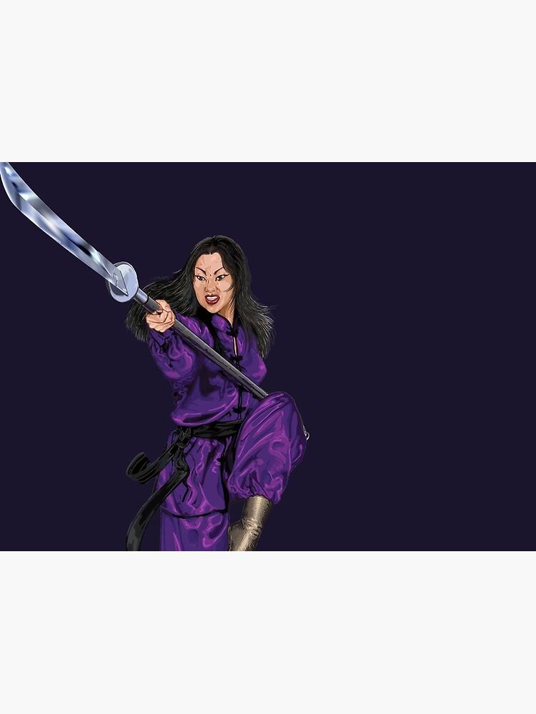 Mulan in Purple by PLUGOarts