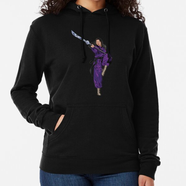 Mulan in Purple Lightweight Hoodie