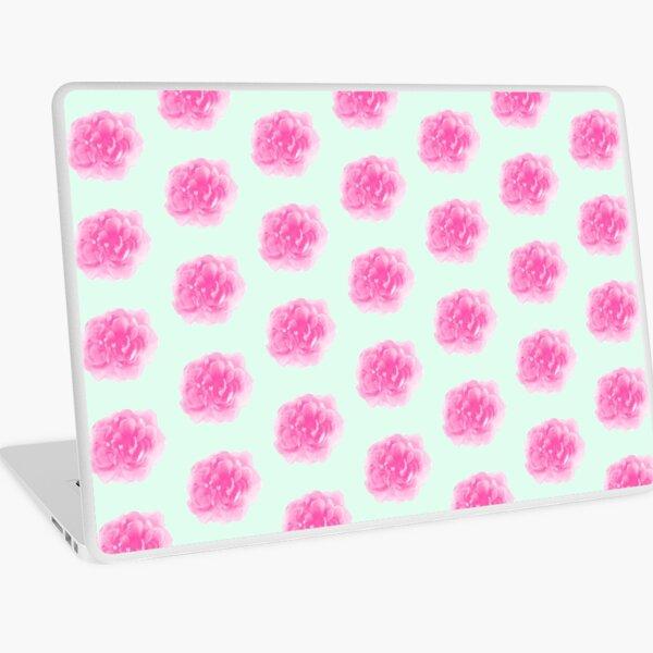 Peony Floral Print Laptop Skin