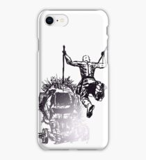Jump - Sketch iPhone Case/Skin
