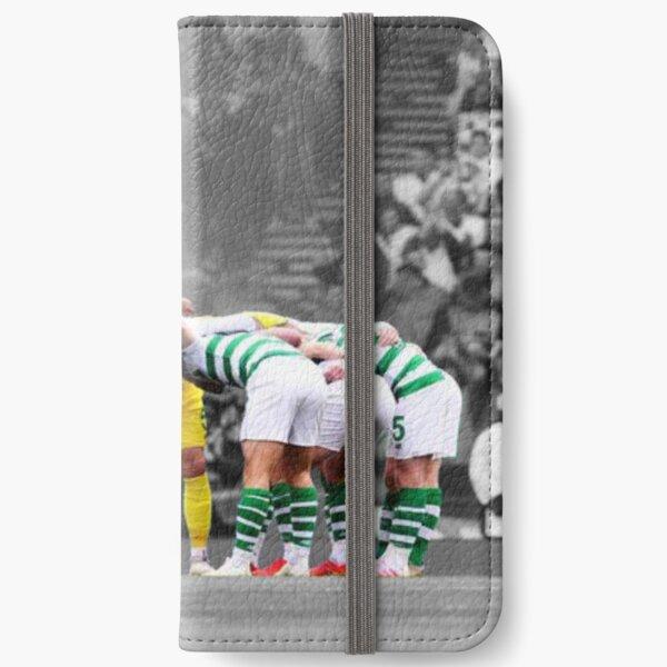 Celtic fc huddle iPhone Wallet