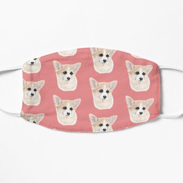 Cute Corgi Puppy Flat Mask