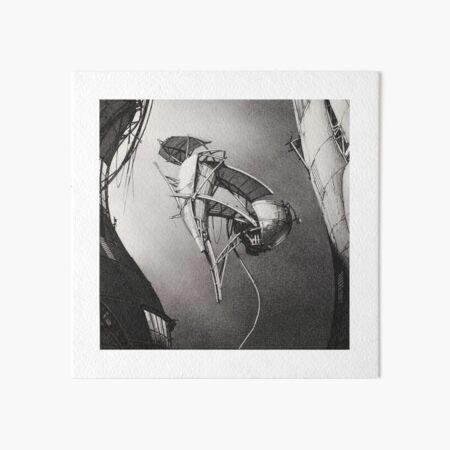 Airship - Lebbeus Woods Art Board Print