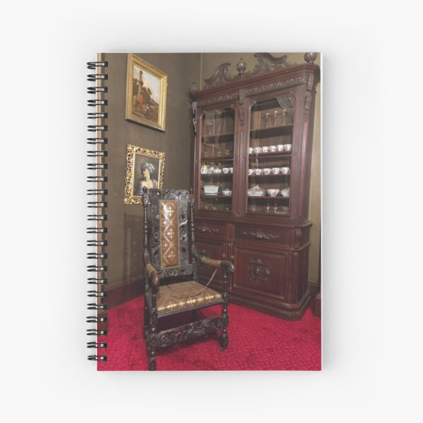 Gibson House Museum Dining Room Corner Spiral Notebook