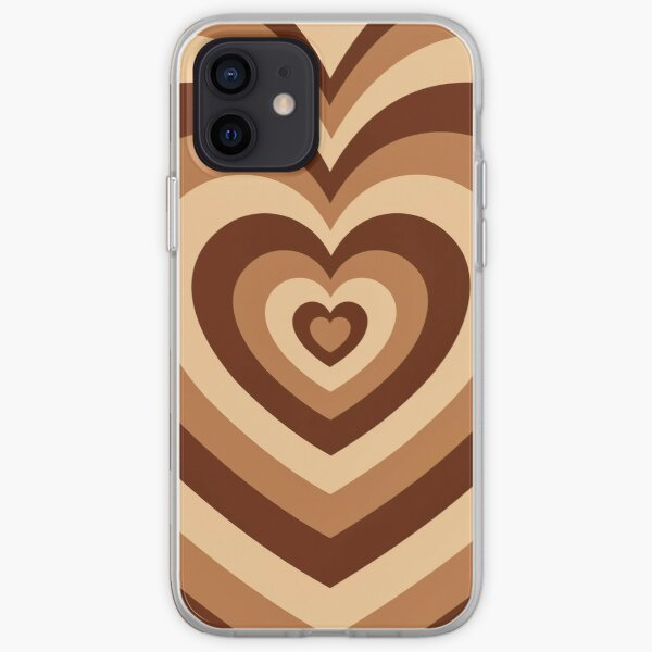Latte love iPhone Soft Case