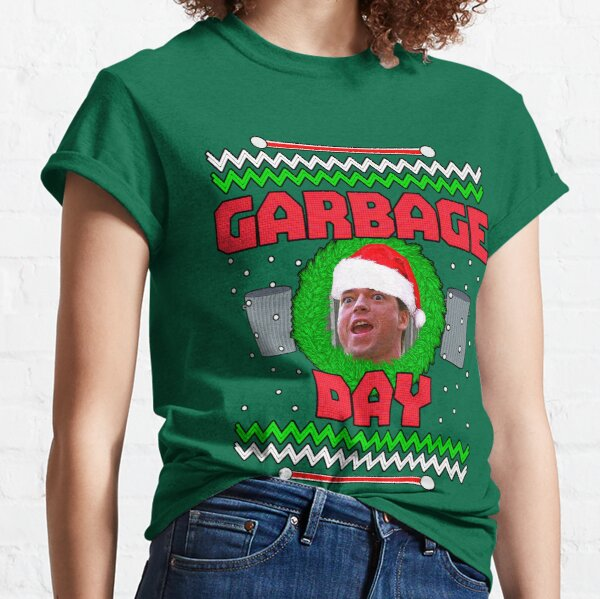 Garbage Day! V2 Christmas Sweater Classic T-Shirt