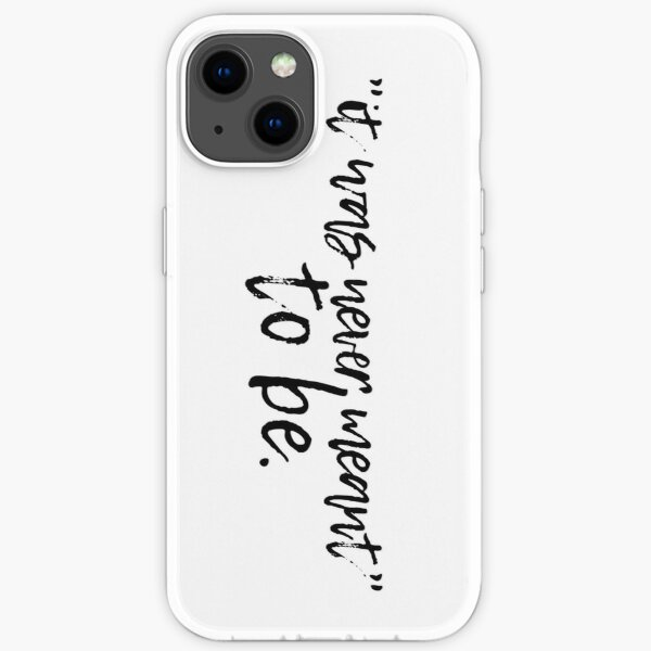 It Was Never Meant To Be (Dream SMP) iPhone Soft Case