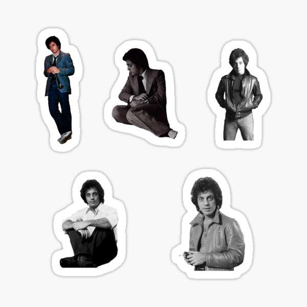 Billy Joel sticker pack Sticker