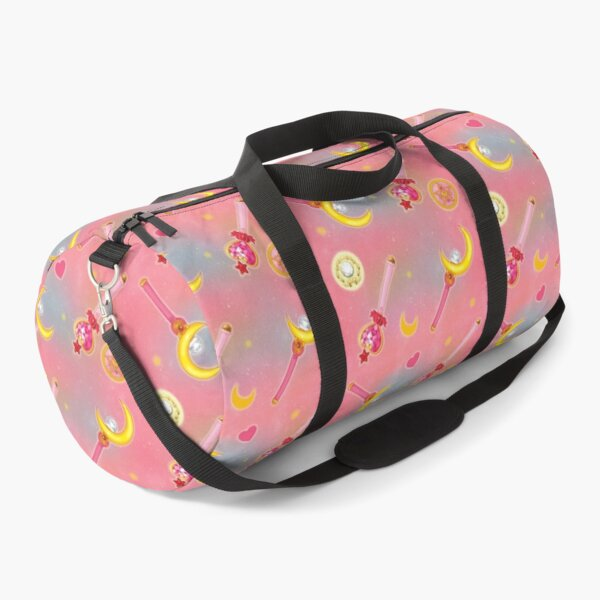 On Wednesdays we wear PINK (& Fight Evil) Duffle Bag