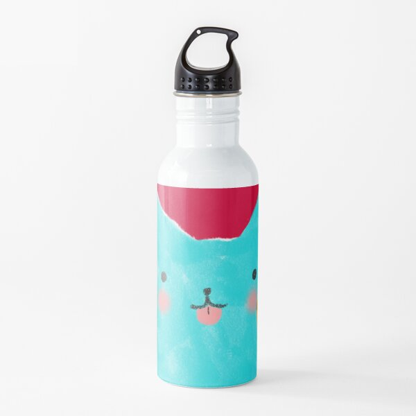 Cat and Pizza Water Bottle