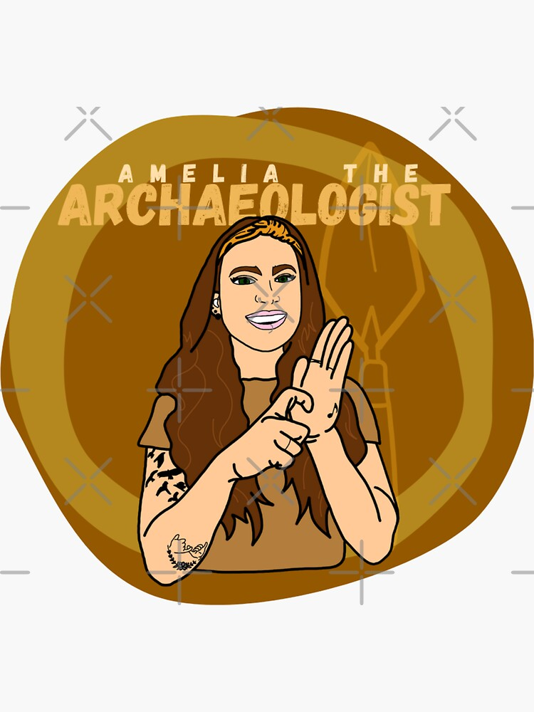 Amelia the Archaeologist Logo by ArchaeoAndASL