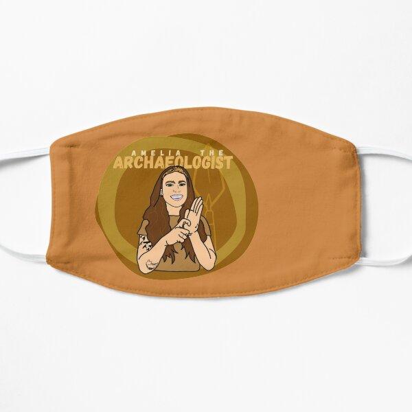 Amelia the Archaeologist Logo Flat Mask
