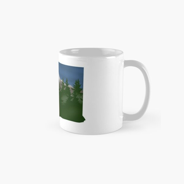Washington Animals with Mountains Classic Mug
