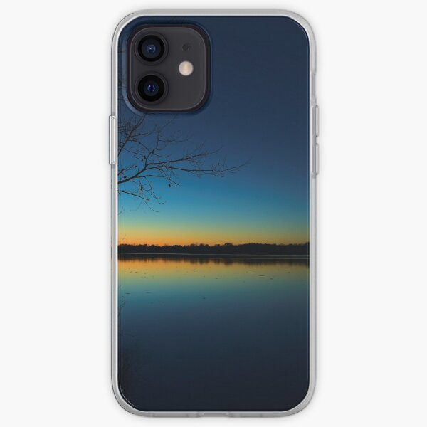 Delaware Lake post sunset iPhone Soft Case