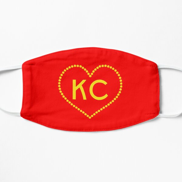 Kansas City KC Heart I Love KC Design Mask