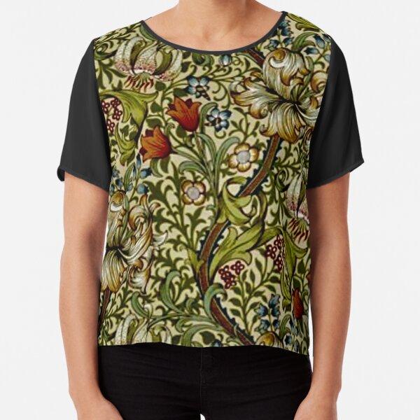 William Morris Golden Lily Chiffon Top
