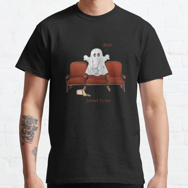 Ghost Critic Tee (Distressed) Classic T-Shirt