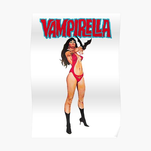 Vampirella Shirt, Sticker, Poster, Mask Poster