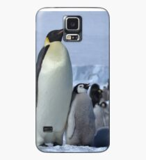 Emperor Penguin and Chicks - Snow Hill Island  Case/Skin for Samsung Galaxy