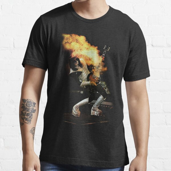 Lover Rock T-shirt, Kiss T-shirt, Ace Frehley Live 2 Tee Essential T-Shirt