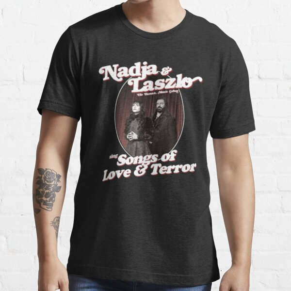 Nadja And Laszlo The Human Music Group Sing Songs Of  Love And Terror Essential T-Shirt