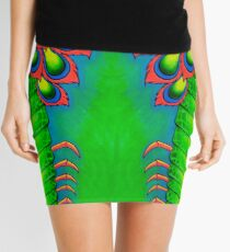 Neon Mantis Shrimp Mini Skirt