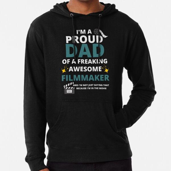 Proud Filmmaker Dad Lightweight Hoodie