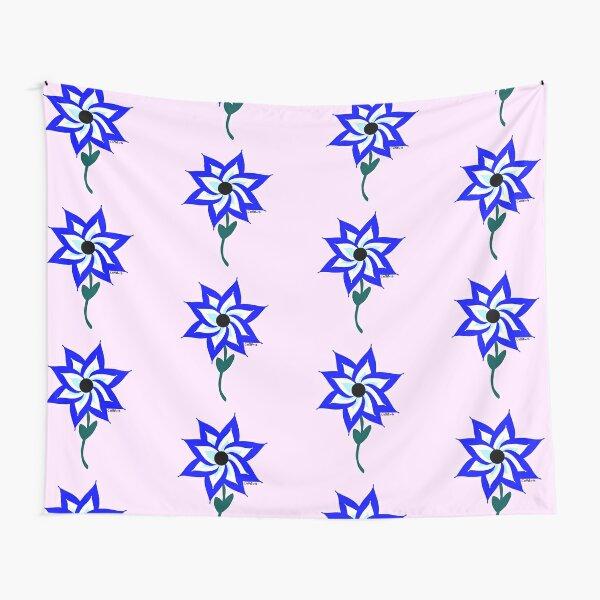 Ojo Turco Flower versión 2 Tela decorativa
