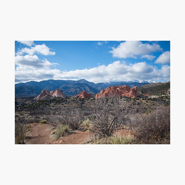 Garden of the Gods CO Photographic Print