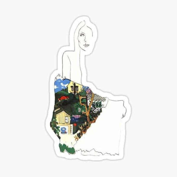 joni mitchell Sticker