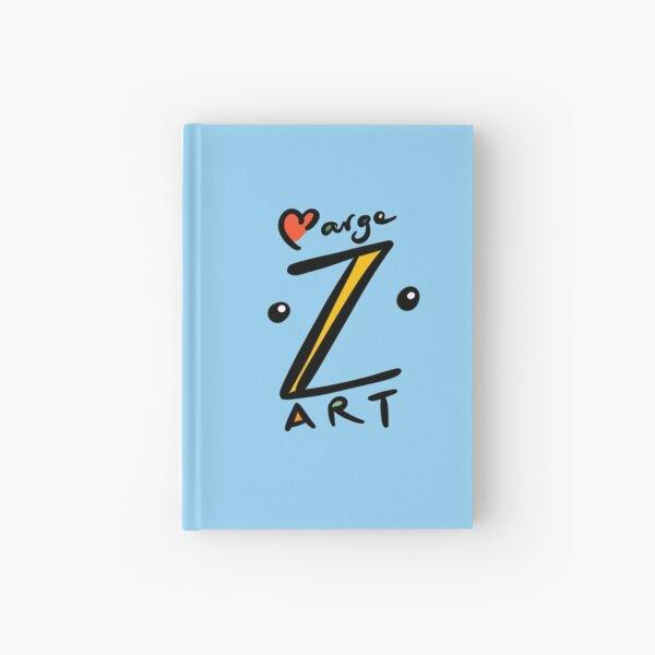 Marge_Z_Art logo Hardcover Journal