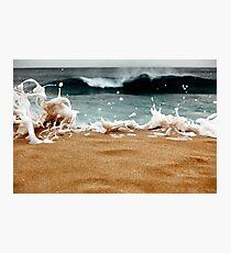 Splash III (the splash series) Photographic Print