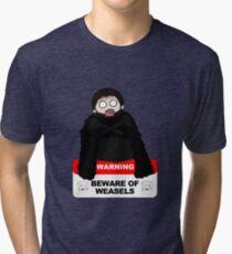 Beware of weasels, Samwell Tri-blend T-Shirt